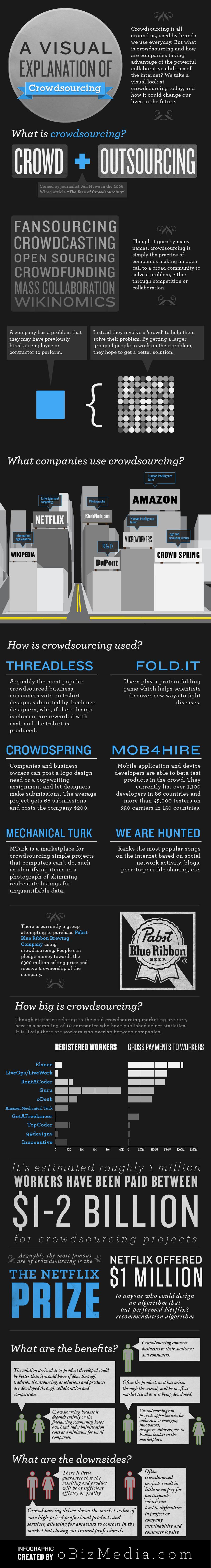 Infografika: Co je to crowdsourcing